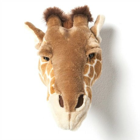 Wild & Soft Animal giraffe Ruby brown 34x19x28