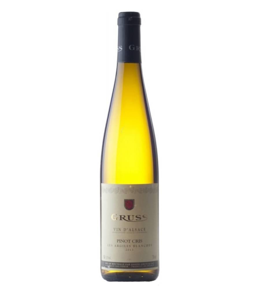 Gruss Gruss Pinot Gris 'Les Argiles Blanches' 2015