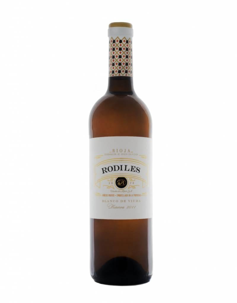 """Viñedos de Alfaro Viñedos de Alfaro Rioja Reserva Blanco """"Rodiles"""" 2014"""