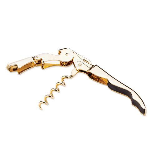Viski Belmont™ Gold Plated Signature Corkscrew bij Viski