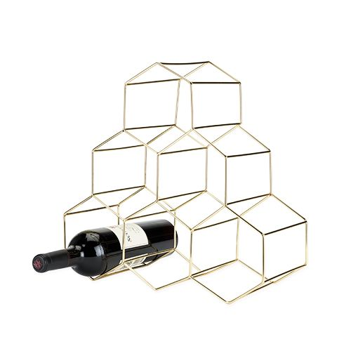 Viski Belmont™ Geo Wine Rack by Viski