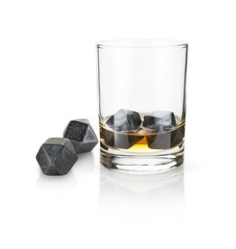 Viski Glacier Rocks® Hexagonal Ice Cubes (Set of 4) by Viski