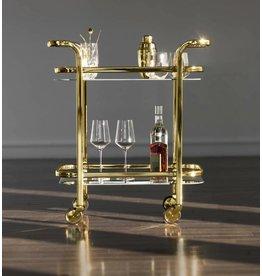 Viski Belmont™ Gold Bar Cart by Viski