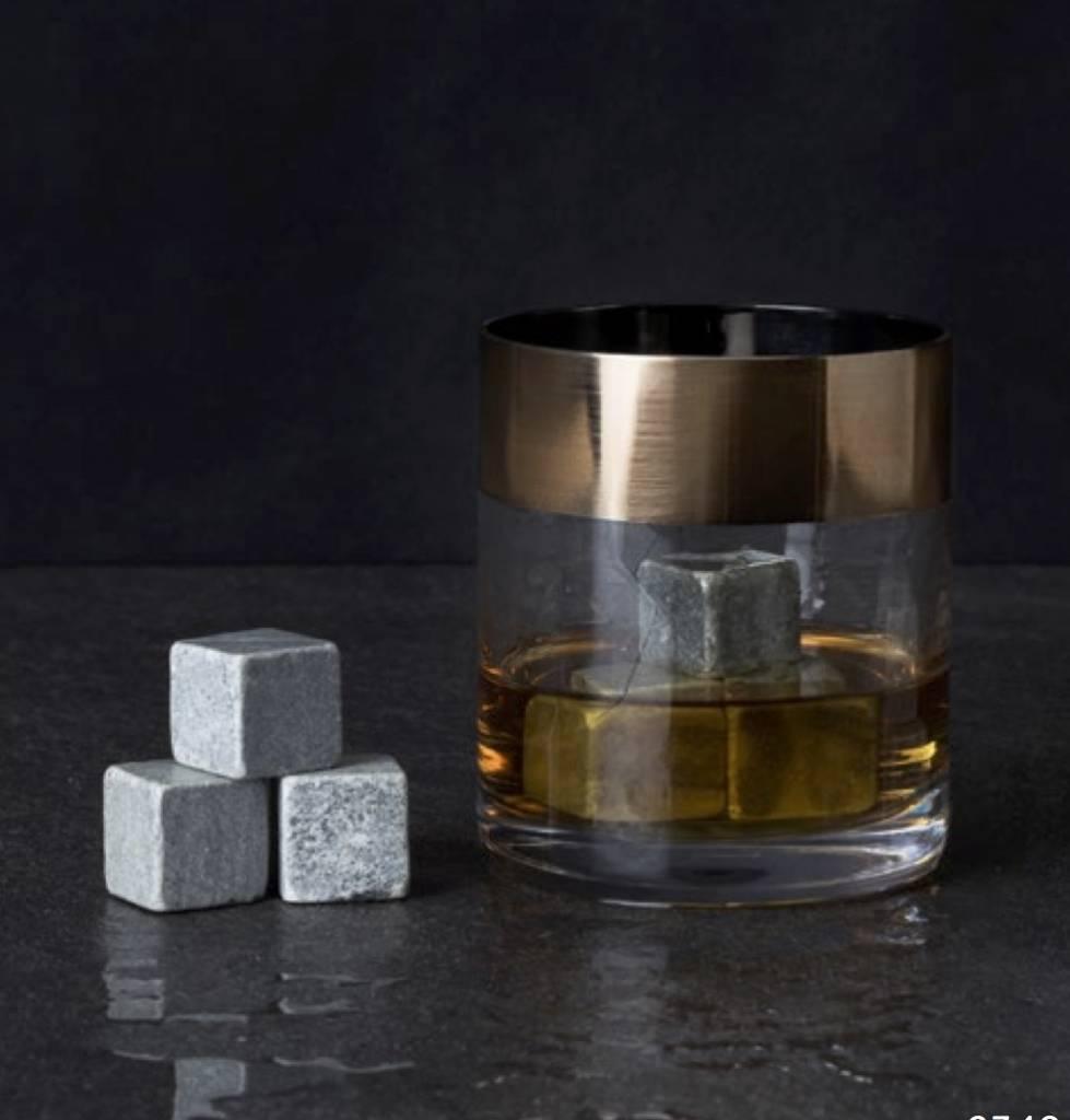 Viski Irving™ Bronze Rim Tumbler (Set of 2) by Viski