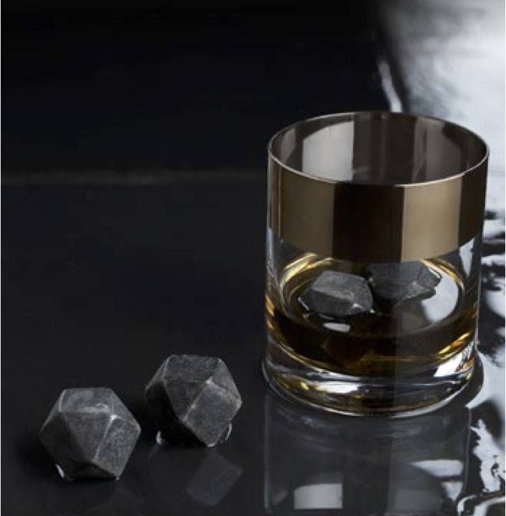 Viski Glacier Rocks® Hexagonal Ice Cubes (Set of 4) by Viski