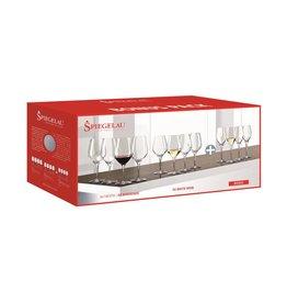 Spiegelau Spiegelau Wijnglazen Authentis Bonus Pack (4*Bordeaux, 4*White, 4*Flute 27 cl)