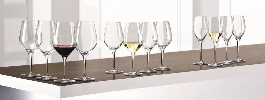 Spiegelau Spiegelau Wijnglazen Authentis Bonus Pack (4*Bordeaux, 4*Wit 42 cl, 4*Flute 27 cl)