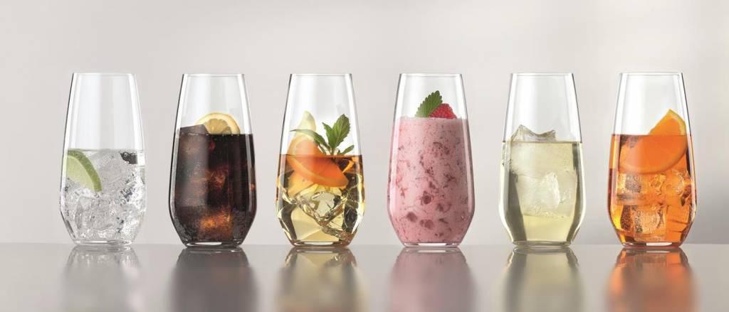 Spiegelau Spiegelau Authentis Set van 6 Casual Summer Drinks 55 cl Glazen