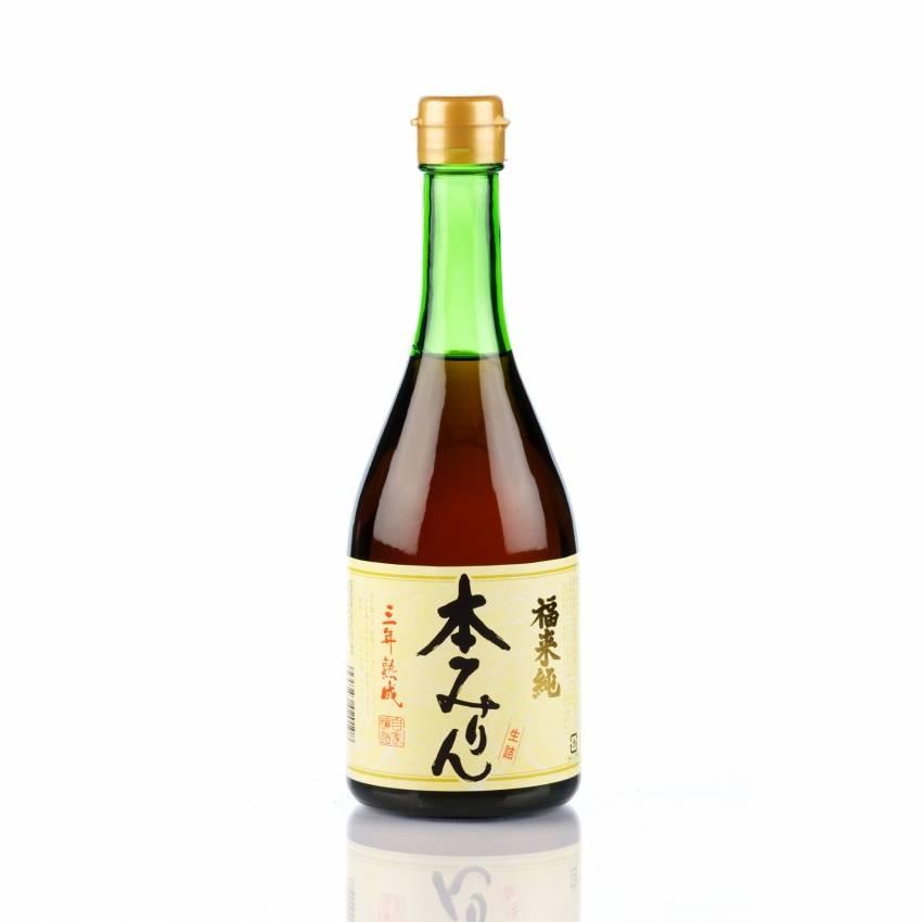 Hakusen Shuzo Fukuraijun Sannen Jukusei Honmirin (pure 3 jaar gerijpte echte Mirin)