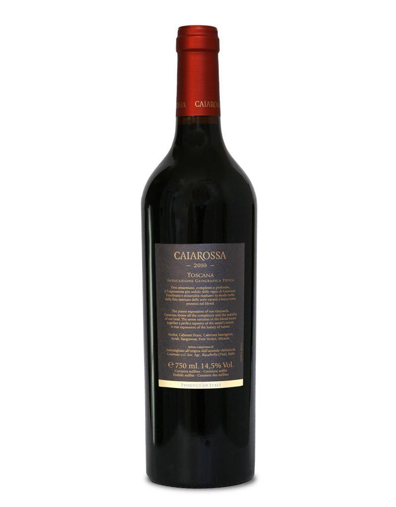 Caiarossa Caiarossa I.G.T. Toscana 2006 & 2015