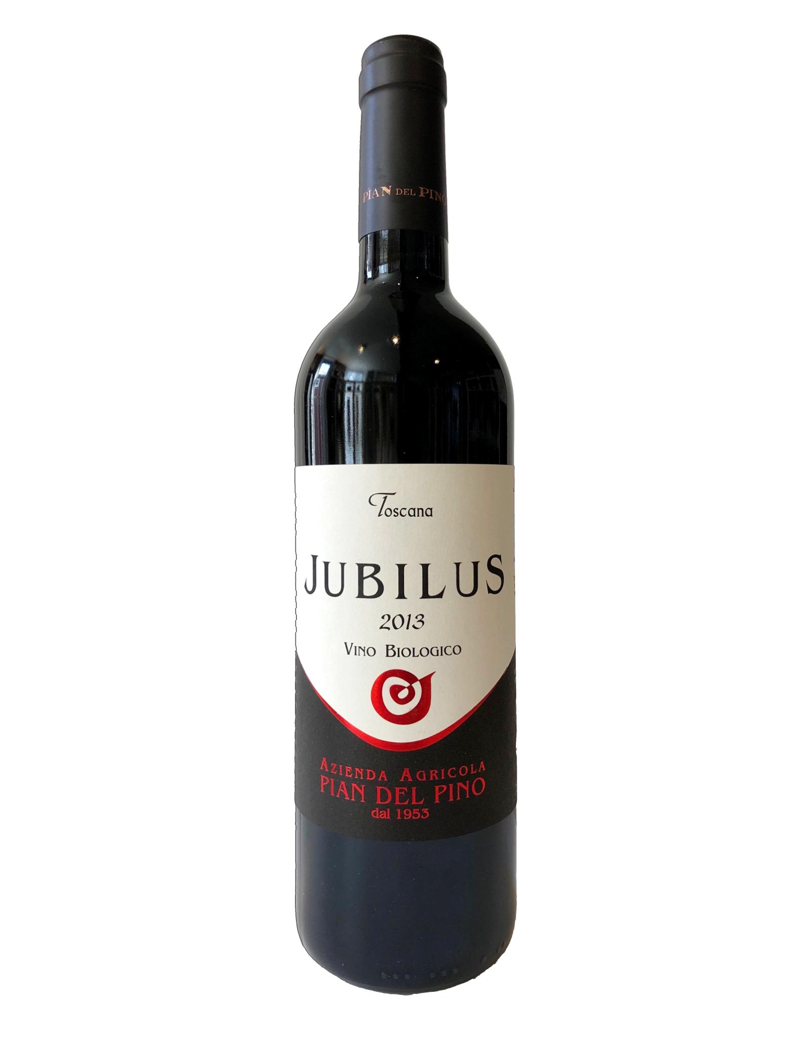 """Pian del Pino Pian del Pino """"Jubilus"""" Vino Biologico Toscana 2013"""