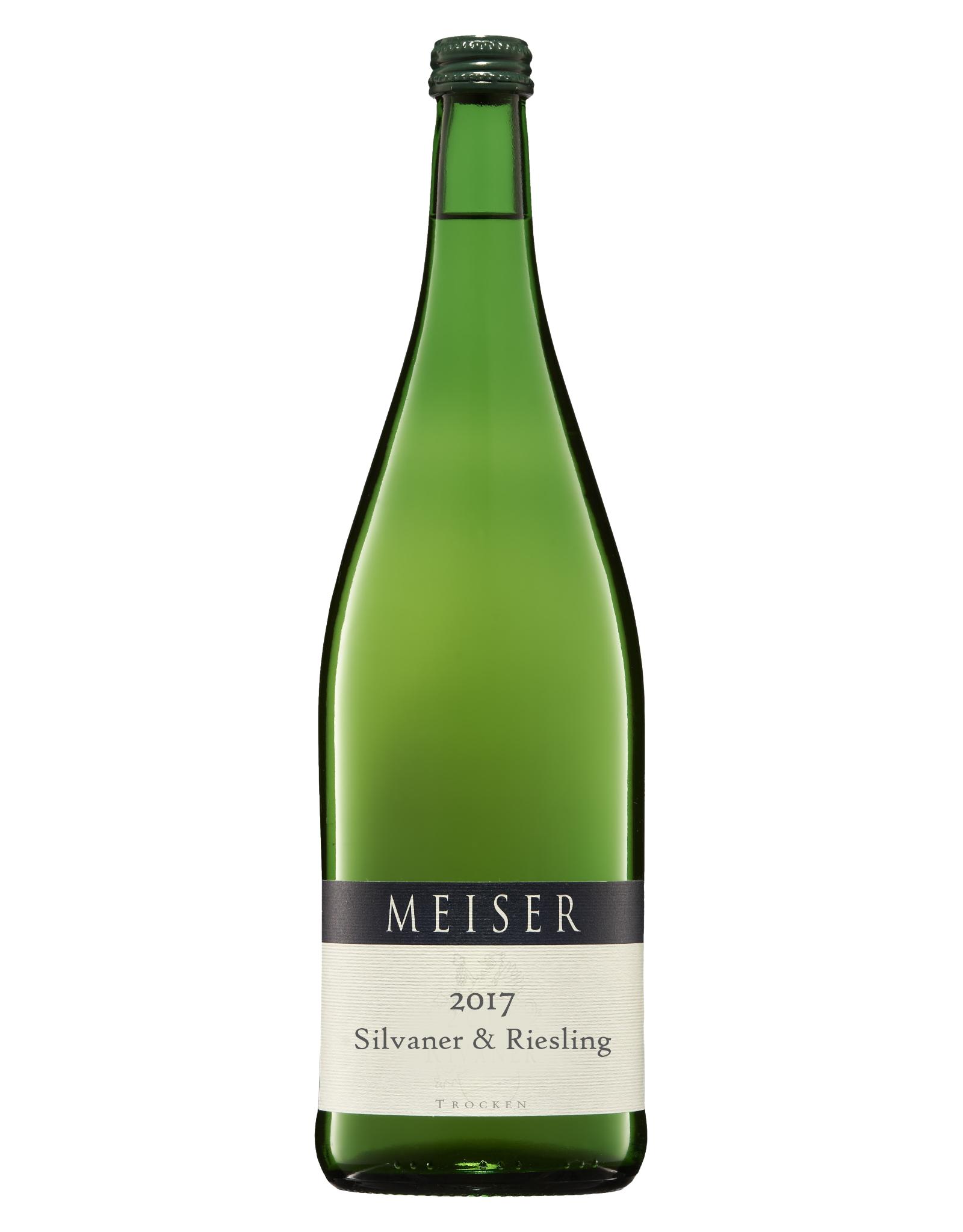 Weingut Meiser Meiser Silvaner & Riesling Trocken 2018 (literfles)