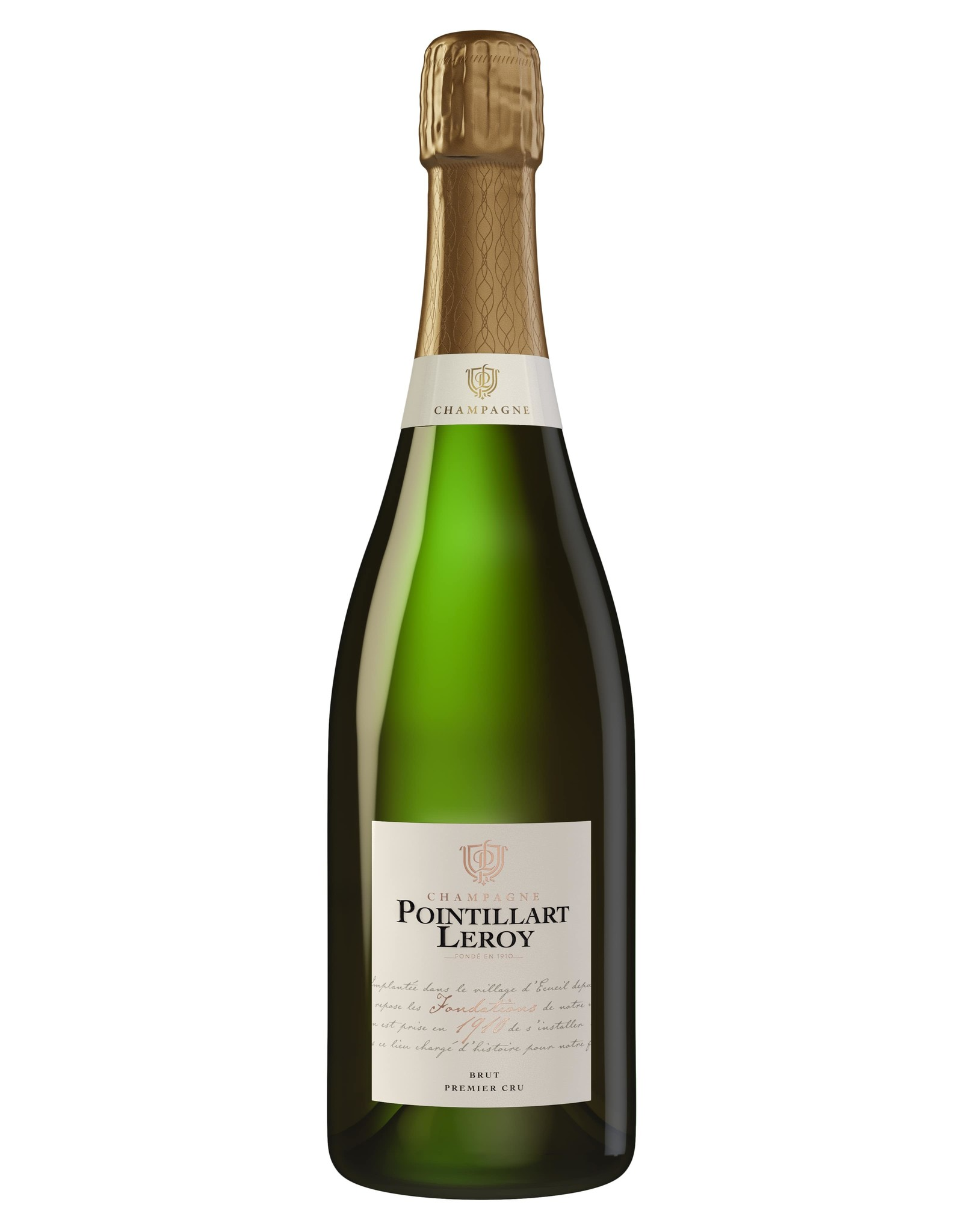 "Pointillart Leroy Pointillart-Leroy Champagne Brut Premier Cru ""Fondations 1910"""