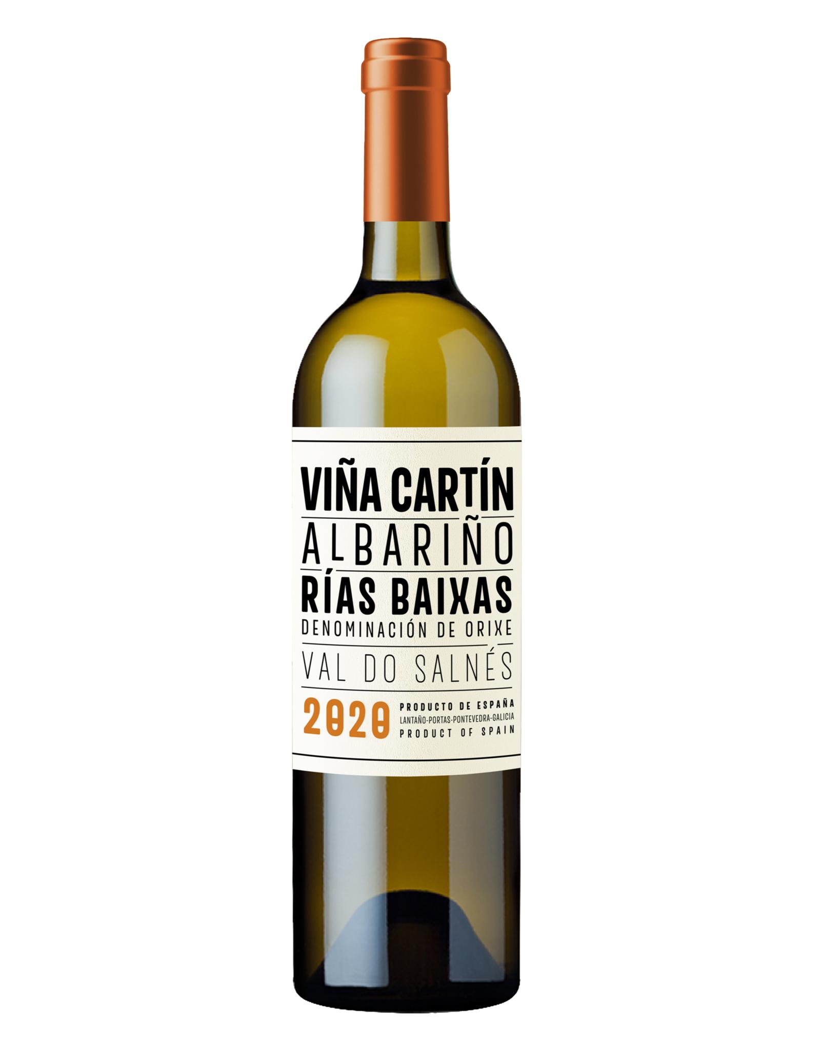 Viña Cartín Viña Cartín Albariño Rias Baixas Val do Salnés 2019 & 2020