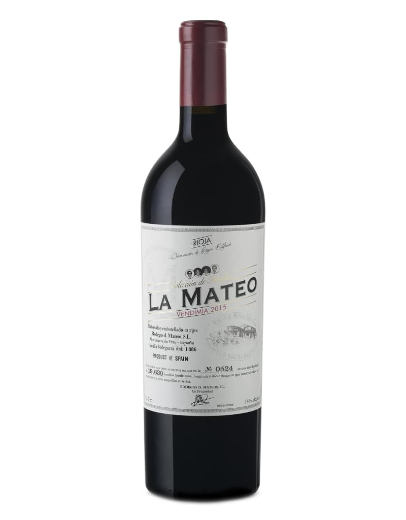 Bodegas Mateos Bodegas Mateos DOC Rioja La Mateo Vendimia 2017