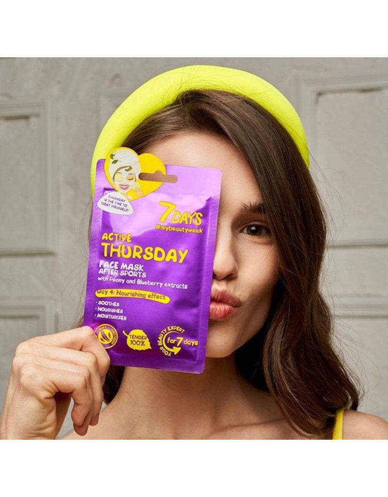 7DAYS Beauty Calender Set (8 tissue gezichtsmaskers)