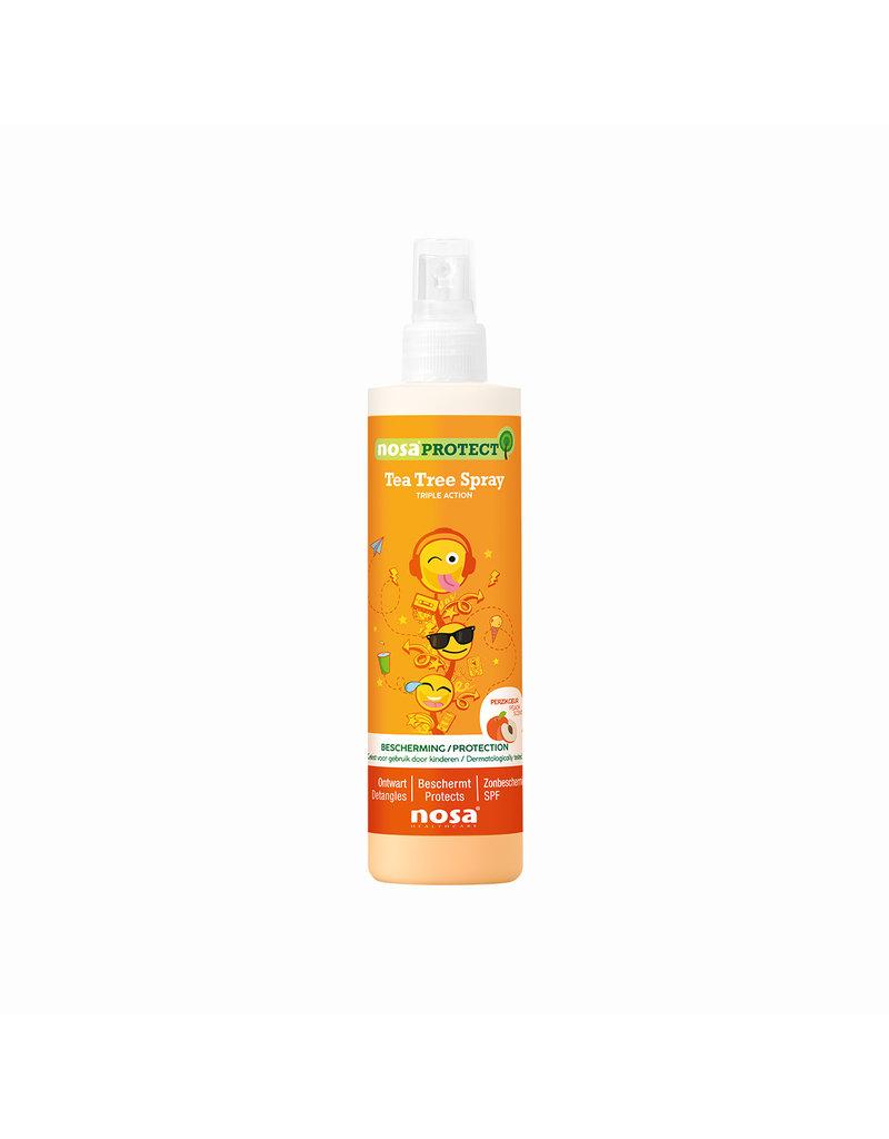 Nosa Protect Tripple Action Tea Tree Spray Perzik 250ml