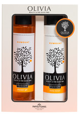 Olivia Shower Gel 300ml & Body Lotion Kumquat 300ml