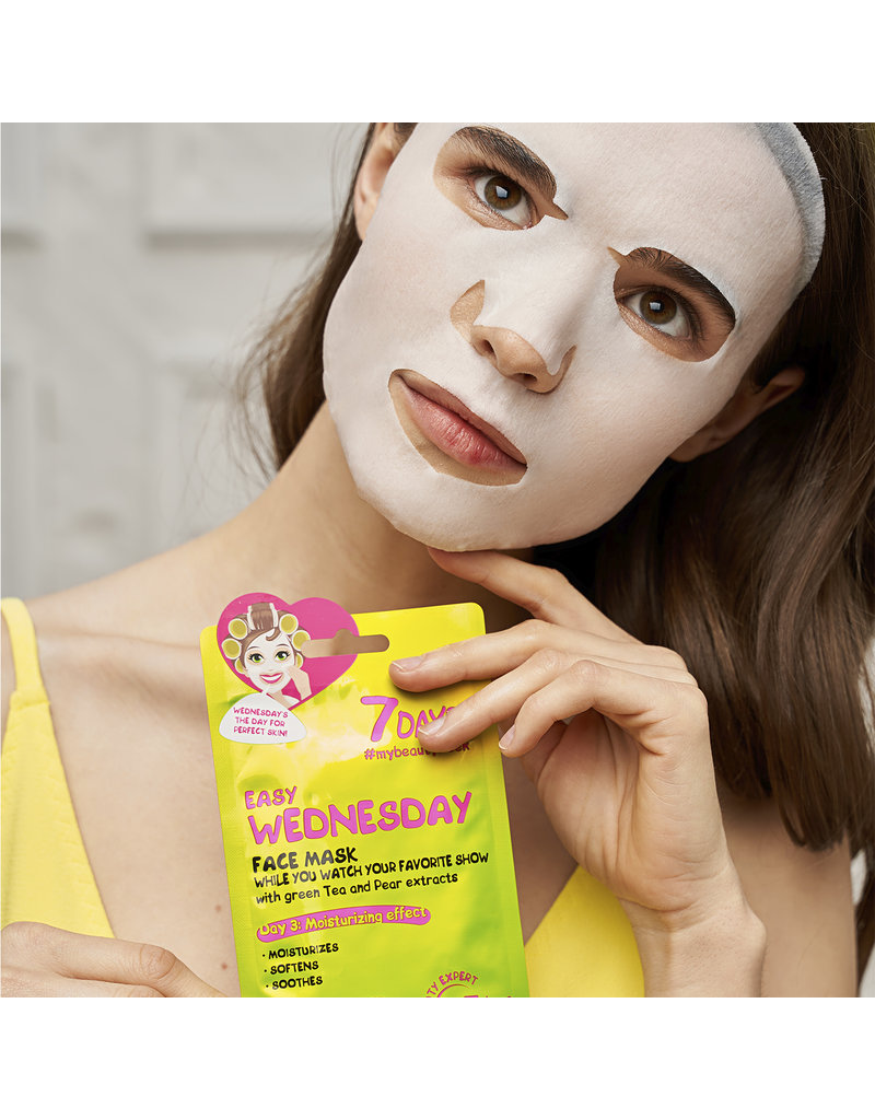 7DAYS Easy Wednesday Sheet Face Mask 28gr.