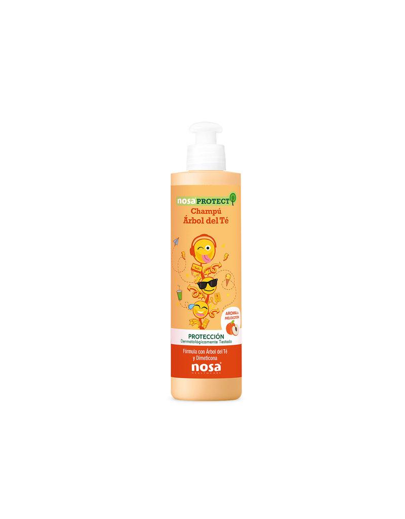 Nosa Nosa Protect Triple Action Tea Tree Shampoo Peach 250ml