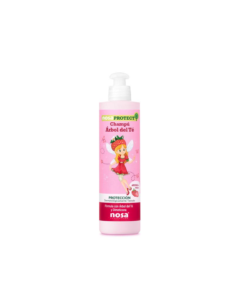 Nosa Protect Tea Tree Shampoo Aardbei 250ml