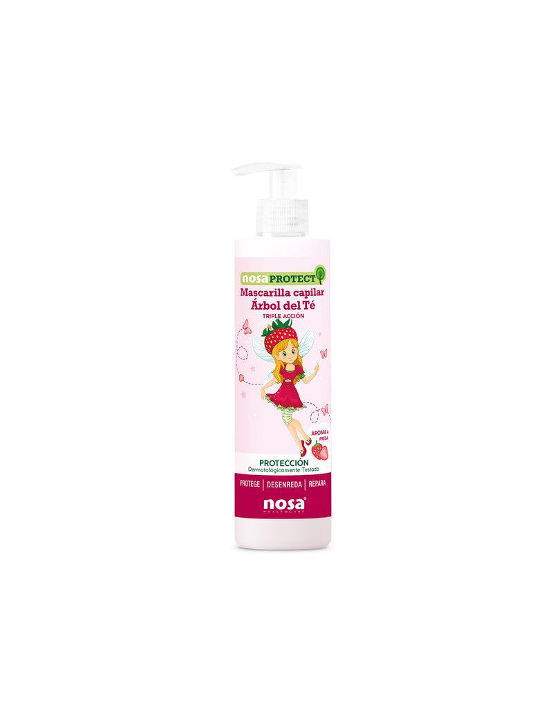 Nosa Protect Triple Action Tea Tree Hair Mask Aardbei 250ml
