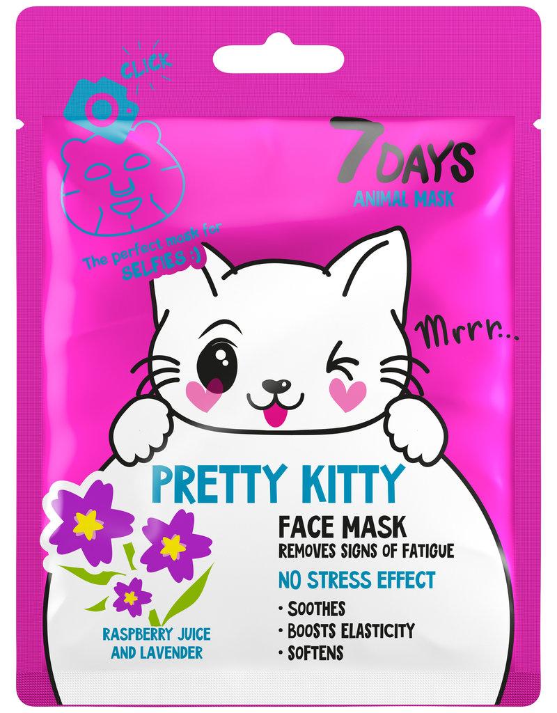 7DAYS Pretty Kitty Face Mask 25gr