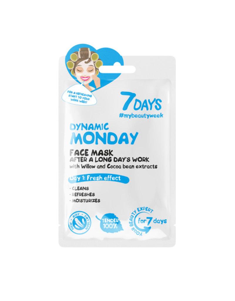 7DAYS Dynamic Monday Face Sheet Mask 28gr.