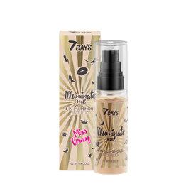 7DAYS 7DAYS Illuminate Me Miss Crazy 4 in 1 Illuminating Face Fluid (Shade 01 Champagne)