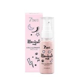 7DAYS Illuminate Me Rose Girl 4 in 1 Illuminating Face Fluid (Shade 01 Champagne)