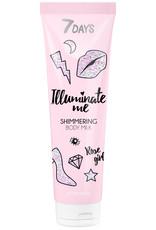 7DAYS Illuminate Me Rose Shimmering Girl Body Milk 150ml