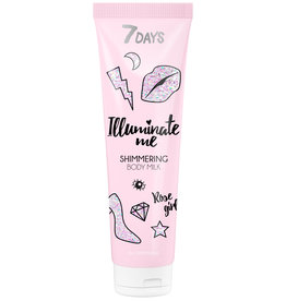 7DAYS Illuminate Me Rose Girl Body Milk