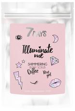 7DAYS Illuminate Me Rose Shimmering Coffee Scrub 200gr