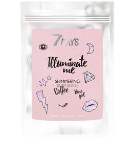 7DAYS Illuminate Me Rose  Girl Shimmering Coffee Scrub