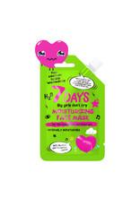 7DAYS 7 DAYS Your Emotions Today Wednesday Moisturizing Face Mask 25 g