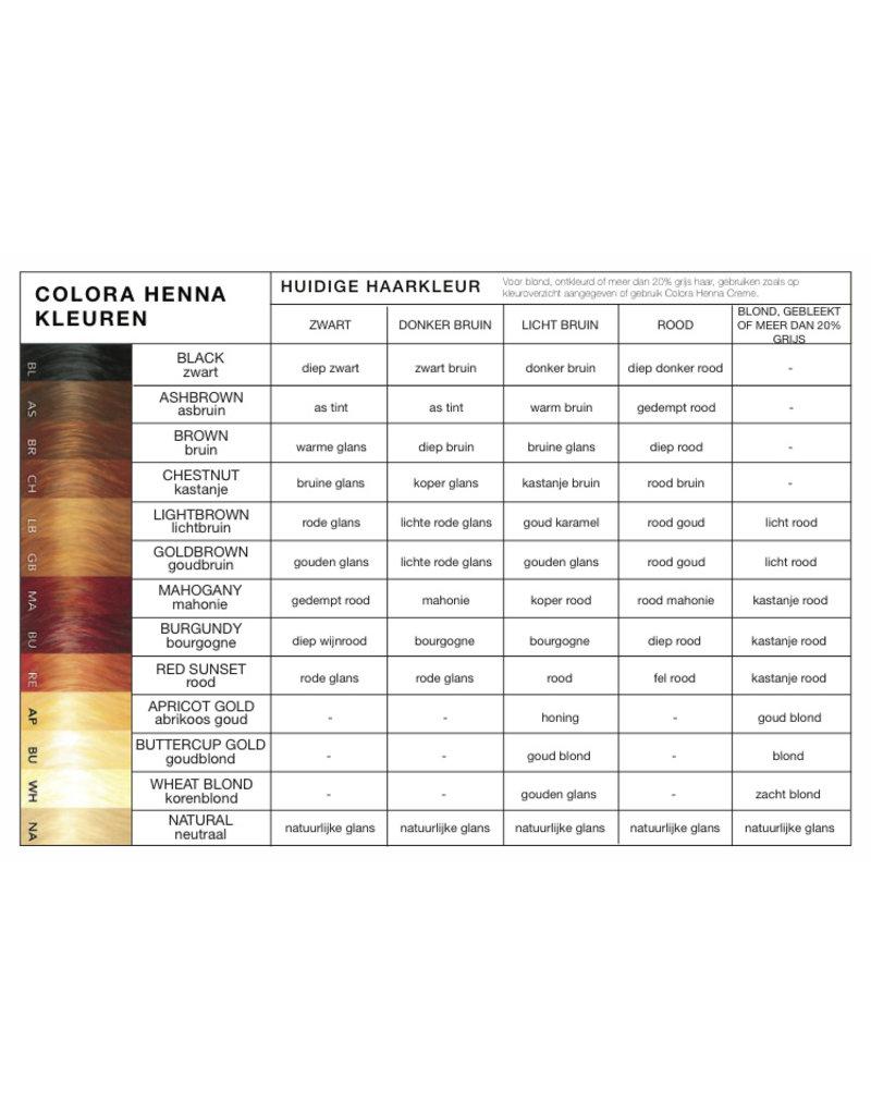 Colora Henna Light Brown 60gr