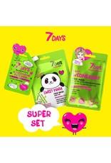 7DAYS Wednesday Super Set (3 Face Masks)