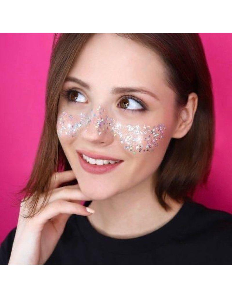 7DAYS Shine, Bombita! Glitter-Gel for Hair, Face & Body Dope