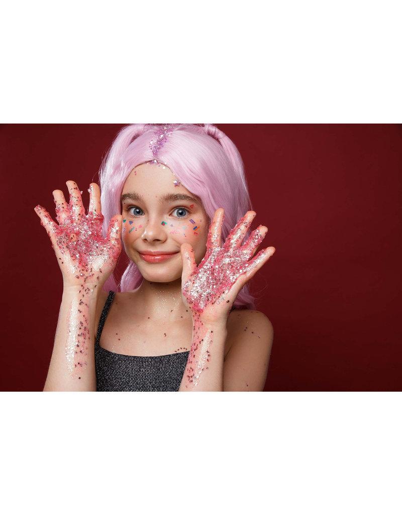 7DAYS Shine, Bombita! Glitter-Gel for Hair, Face & Body Pink