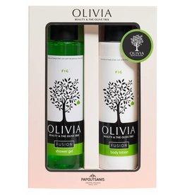 Olivia Fusion Shower Gel 300ml & Body Lotion Fig 300ml
