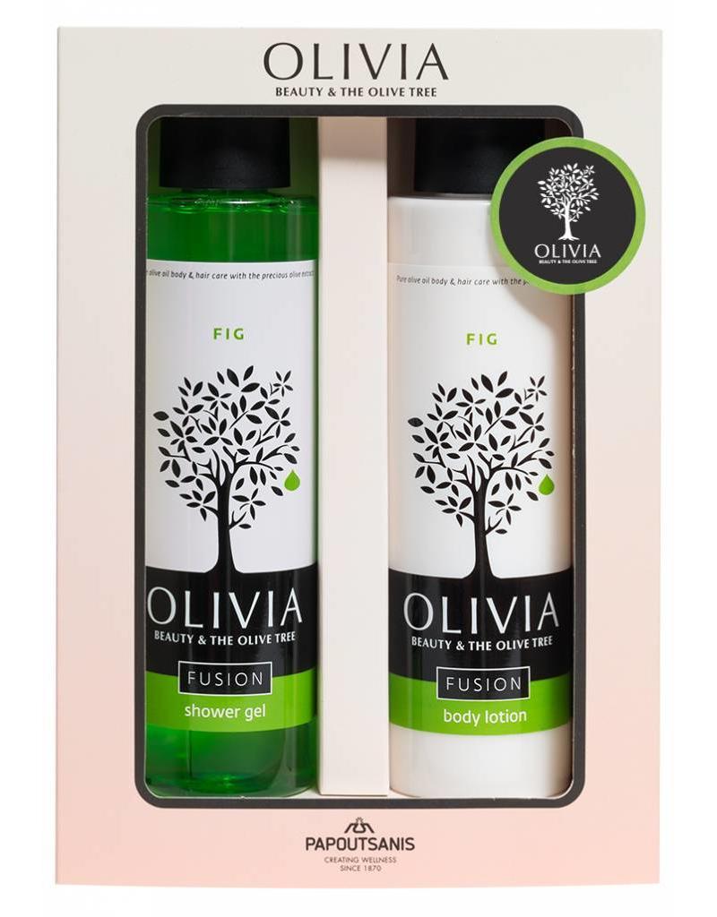 Olivia Shower Gel 300ml & Body Lotion Fig 300ml