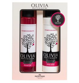 Olivia Shower Gel & Body Lotion Pomegranate