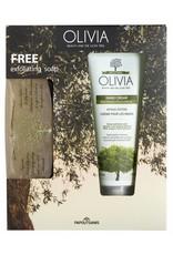 Olivia Gift Set Hand Cream & GRATIS Exfoliating Zeep