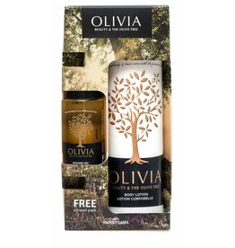 Olivia Gift Set Body Lotion 300ml & Shower Gel 60ml