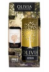 Olivia Gift Set Shower Gel 300ml & Body Lotion 60ml