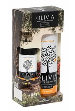 Olivia Fusion Gift Set Shower Gel 300ml & GRATIS Body Lotion Kumquat 50ml