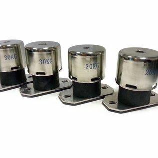 OptiClimate 10000 PRO3 ressorts isolateur de vibration