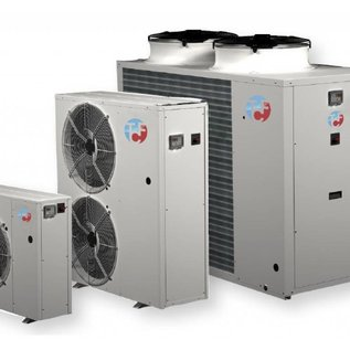 Water chiller for outdoor installation