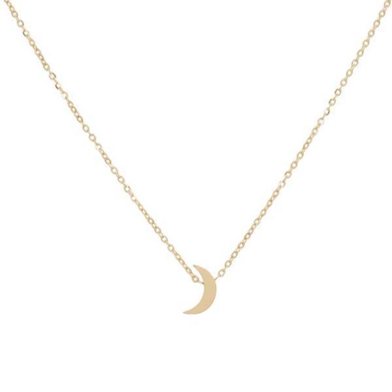 ZAG Bijoux jewellery ZAG ketting maan goud