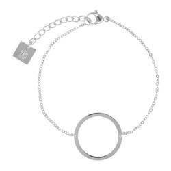 ZAG Bijoux jewellery  zag armband zilver circle of live